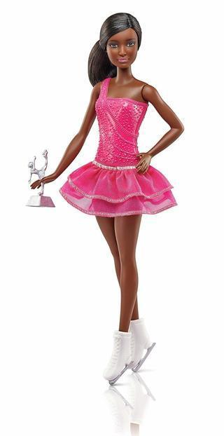 NEW Barbie Sports Ice Skater Doll MATTEL Dolls Toys FREE SHIPPING