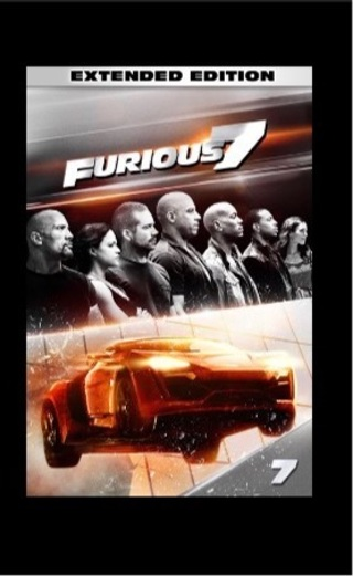 Furious 7 extended edition digital HD