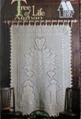 Free: Annie's Attic Filet Crochet Tree of Life Afghan - Crochet
