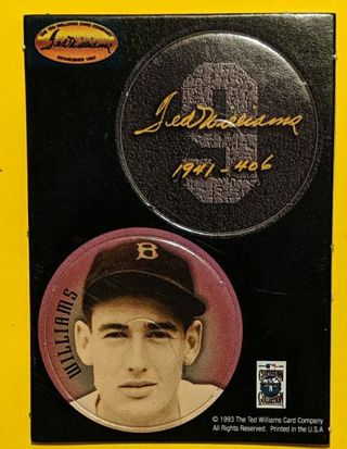 TED WILLIAMS UNPUNCHED DISKS