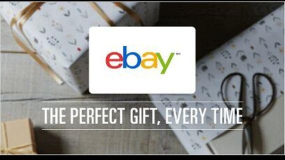 $10 Ebay digital gift card code, USA only