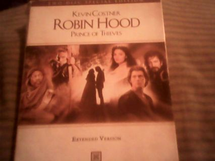 Robin Hood prince of thieves DVD extended version