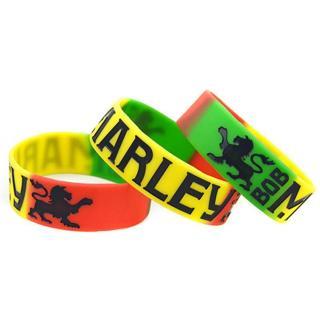 1 420 bob marley lion bracelet rasta wristband reggea dub hot topic GIN