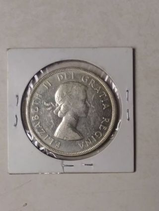 1961 Canadian dollar!!! Silver!!!