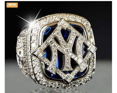 2009 New York Yankees World Series Championship Ring Size 10