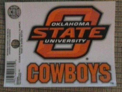 ¥¥¥ Oklahoma State University Cowboys Decal ¥¥¥