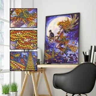 Halloween Witch 5D Special Diamond Painting DIY Embroidery Cross Stitch Crafts