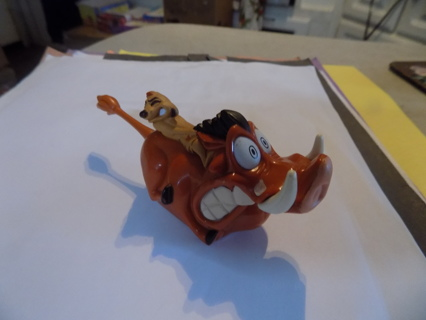 Vintage McDonalds toy Timon & Pumba of Lion King