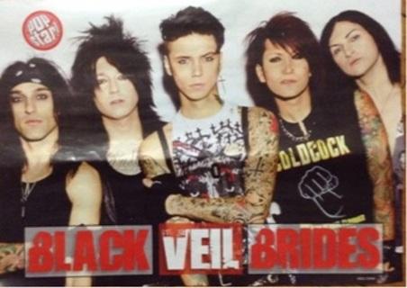 Black Veil Brides Pop Star 2015 pin up/poster