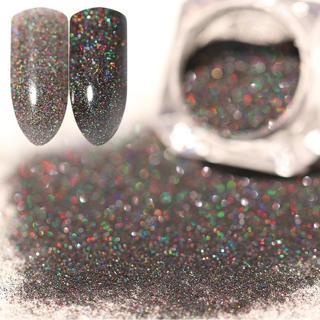 1pcs Holographic Nail Powder Nail Art Holo Acrylic Glitter Shimmer Dust Chrome Pigment DIY Manicur