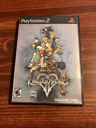 Kingdom Hearts II (PS2, Playstation 2)