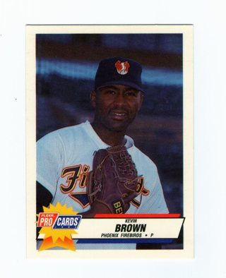 Kevin Brown Phoenix Firebirds Card