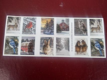 DON'S DAILY DEAL(20) FOREVER STAMPS..WINTER MIX