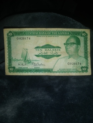 Gambia Banknote