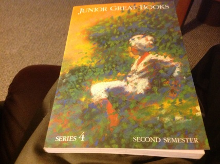 JUNIOR GREAT BOOKS SERIES 4 second SEMESTER by THE GREAT BOOKS FOUNDATION
