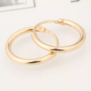 South Korea Jewelry Earrings Lovers Circle Ear Ring Earrings For Women And Rings Earrings Female