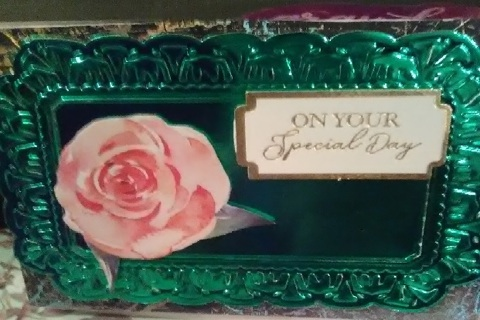 On Your Special Day Design Blank Note Card