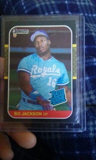 Bo jackson rated rookie