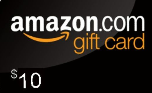 $10 Amazon Gift Card ☆Fast Delivery☆