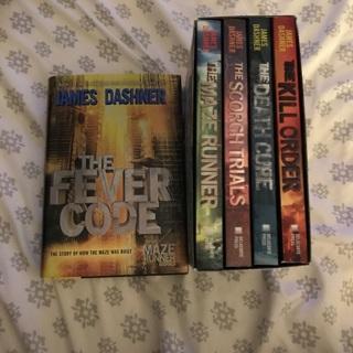 James Dashner The Maze Runner Series
