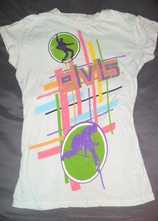 Elvis T-Shirt Juniors Small