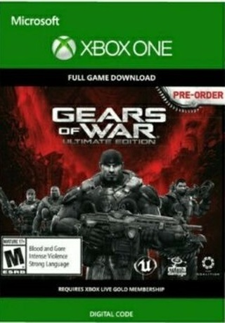 Full (New) Game Gears of War: Ultimate Edition for Xbox One Digital Download