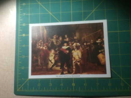 THE NIGHT WATCH by Rembrandt Small Art Print
