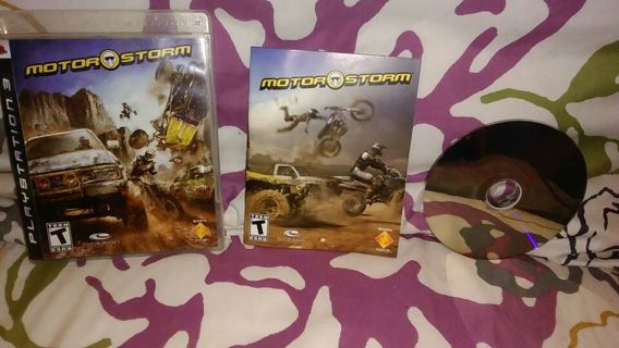 ~!PS3 MOTOR STORM LIKE NEW!~