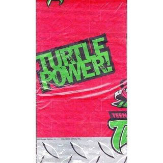 "TEENAGE MUTANT NINJA TURTLES 54"" x 89"" PARTY TABLE COVER, Hallmark"