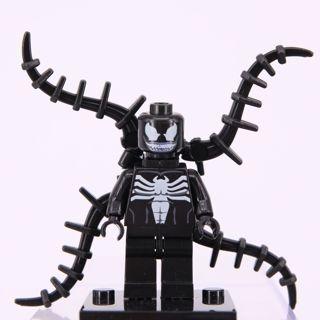 Venom Minifigure Building Blocks Toy Custom Lego