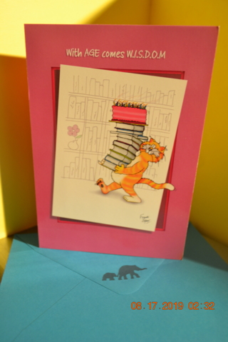 ****KAT HUMOR BIRTHDAY CARD W/ENVELOPE***FREE SHIPPING