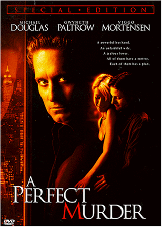 A Perfect Murder dvd full and widescreen
