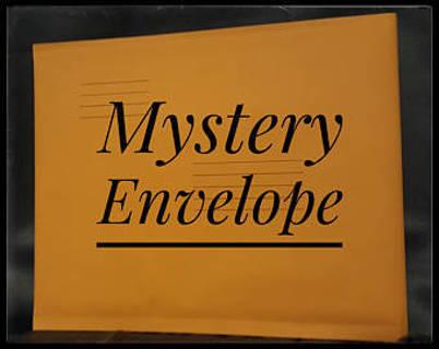 Mystery Envelope -Die Cuts