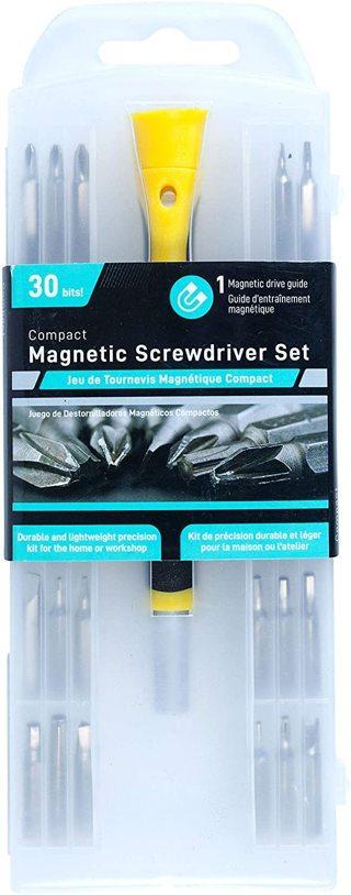31 Piece Magnetic Screwdriver Set