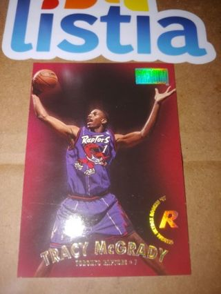 TRACY McGRADY⭐TORONTO RAPTORS⭐1997 SKYBOX PREMIUM!⭐ROOKIE CARD⭐FREE $HIPPING