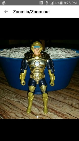 Vintage 1986 Captain Power action figure