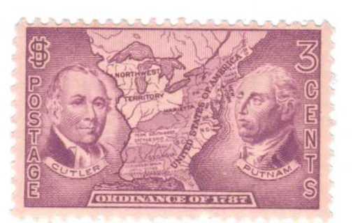 Free: US MINT NH SCOTT# 795 Manasseh Northwest Territory Map Date ...