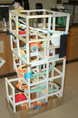 Free DIY MARBLE ROLLER COASTER MADE FROM PAPER LIMITED