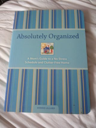 New Absolutely Organized Book