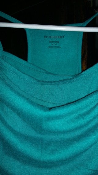 Teal Dress by Motherhood Maternity - for the stylish, nursing mother
