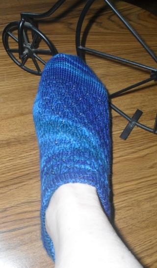Free Knitting Midnight Moon Ankle Socks Pattern Knitting Listia