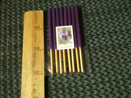 "8pk Lavendar incense 8"" free shipping"