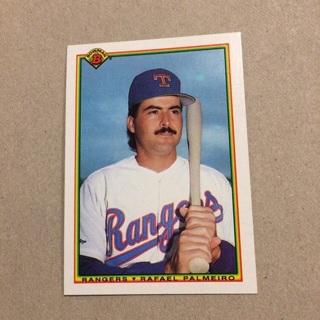 1990 Bowman - [Base] #496 Rafael Palmeiro