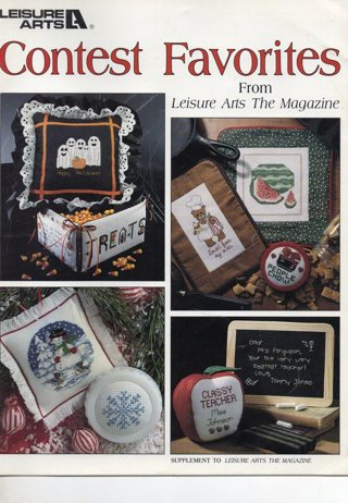 Cross Stitch Leaflet: (more than 2 pages): Contest Favorites