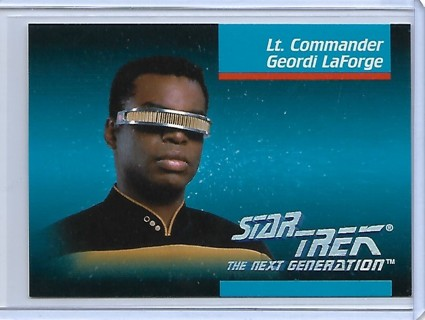 1992 Star Trek The Next Generation #8 Geordi LaForge