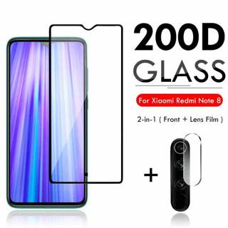 2 in 1 Protective Glass For Xiaomi Redmi K20 Pro Note 7 5 Case Camera Lens Protector On For Xiomi
