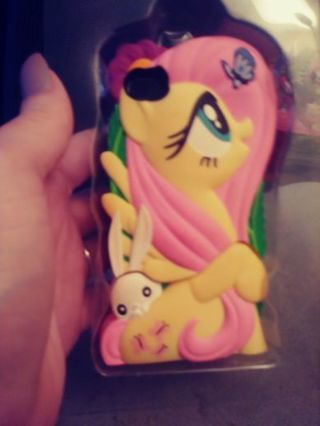 """Iphone 4 My Little Pony """"Fluttershy"""" Chara Brick Cover Case"""