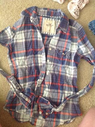 Hollister size XS long sleeve shirt