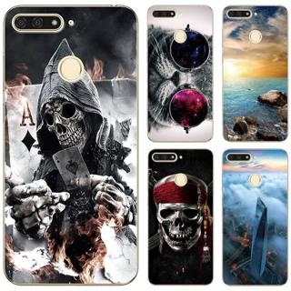 """Case For Huawei Honor 7C AUM-L41 5.7"""" Russia Version Animal Patterned TPU Soft Shell For Huawei Ho"""