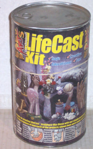 Free: BODY PARTS THE ORIGINAL LIFE CAST KIT - Other Craft Items